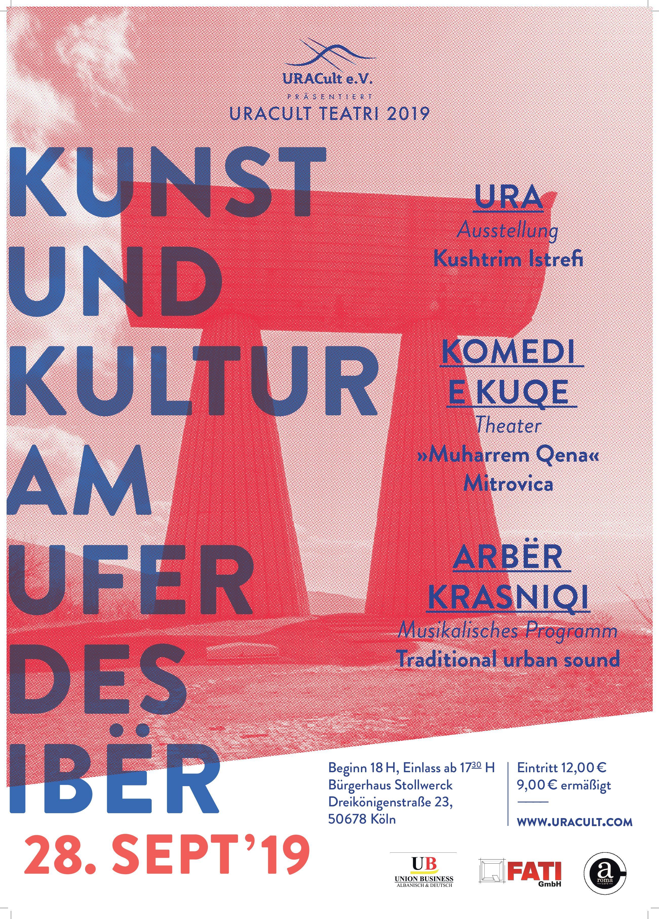 URACult Teatri 2019 Poster
