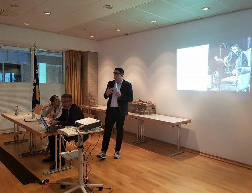 UC als Kultur-Botschafter im kosovarischen Konsulat